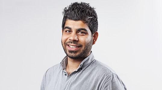 Portrait of Rami Jumaah