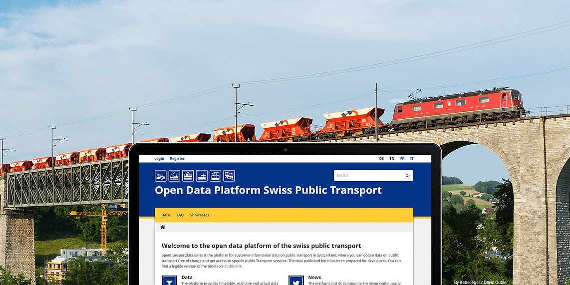 SBB Open Data Plattform · Blog · Liip