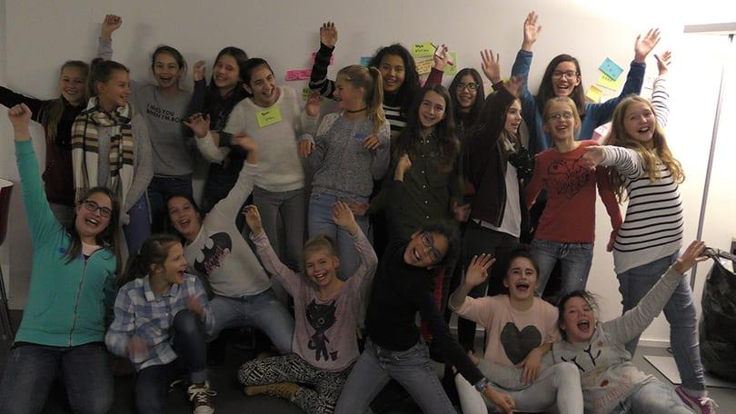 Die Mädchen des Zukunftstages 2016