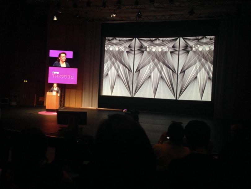 Designer Hansje van Halem at Typo Berlin 2018