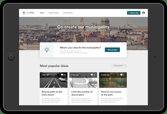 Die Software von Citizen Lab auf einem iPad