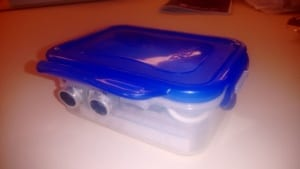 Photon in a lunch box