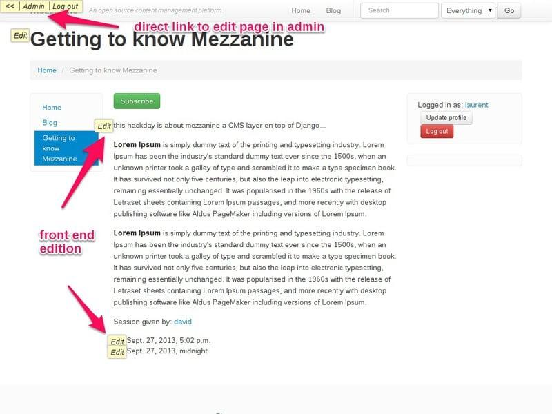 frontend-edition-mezzanine-cms