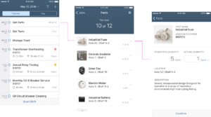 """SAP Fiori for iOS"" User Interface Example"