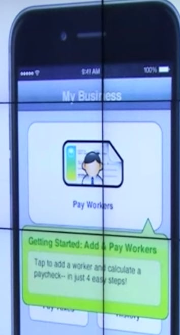 Intuit mobile app Just-In-Time useful onboarding