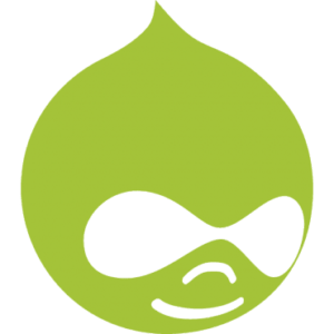 Drupal logo Liip green