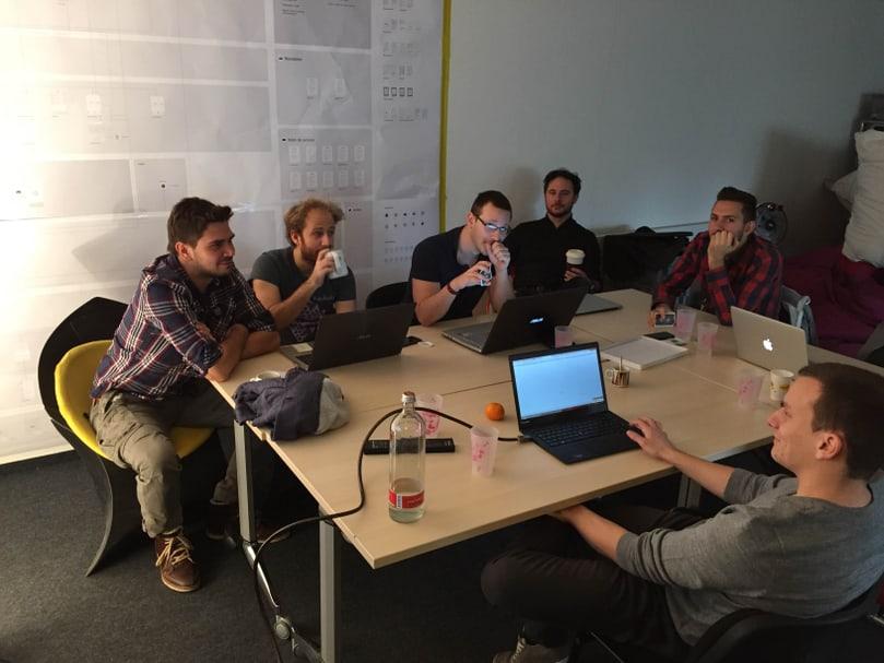 L'équipe cross-fonctionnelle QoQa-Liip