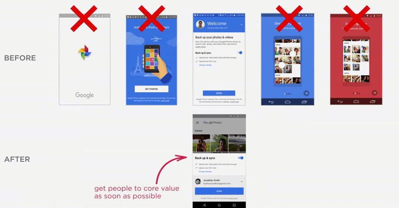 Google Photos mobile app going asap to the product core value