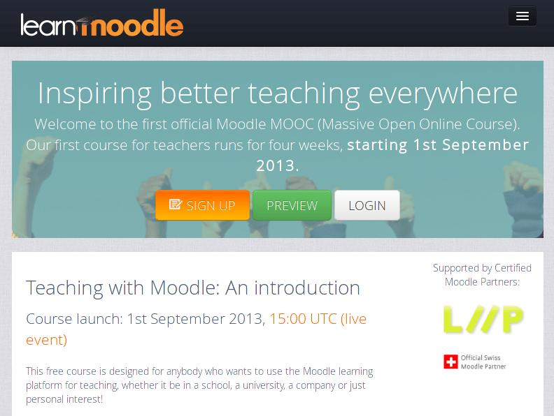 moodle mooc screenshot
