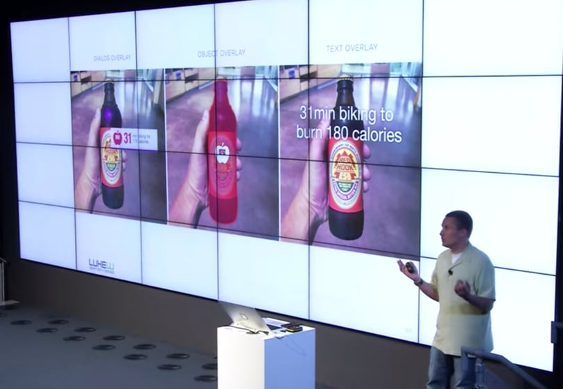 Augmented Reality examples