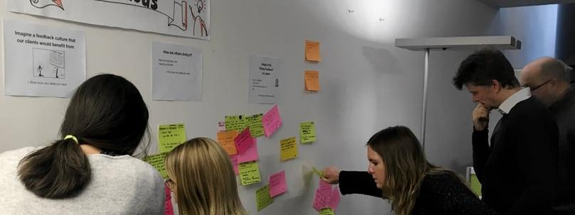 Workshop about feedback