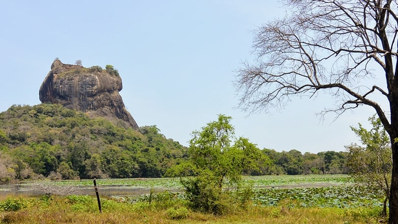 Lion rock of Sigiriya, Sri Lanka