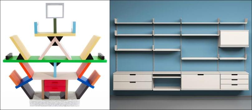 Produktdesign von Sottsass und Rams