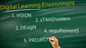 Digital Learning Environment in 5 steps
