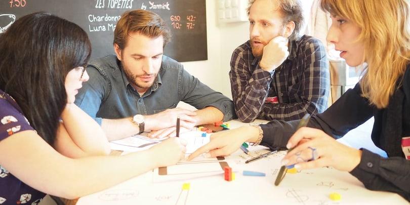 La co-créativité comme élément central de la journée