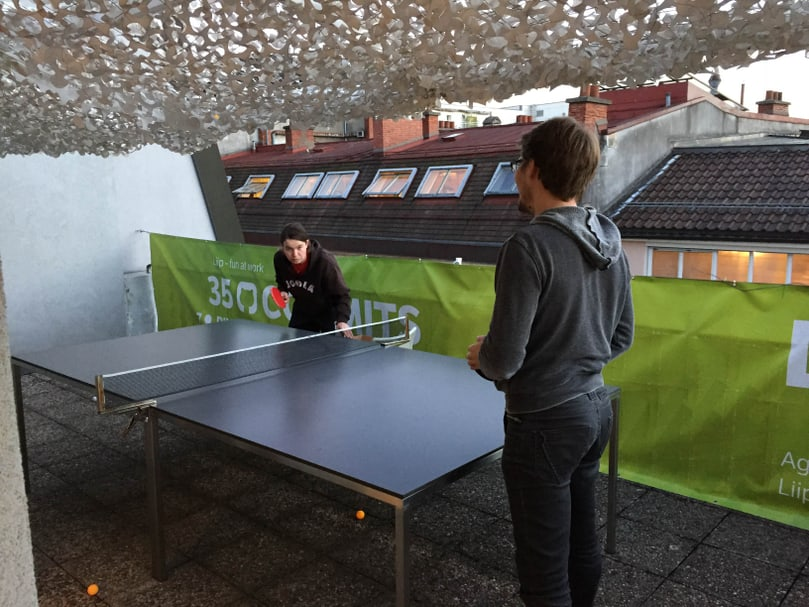 Pause ping-pong, ou comment allier rigueur et freestyle !
