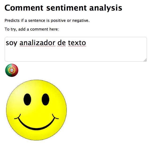 portugese sentiment analysys