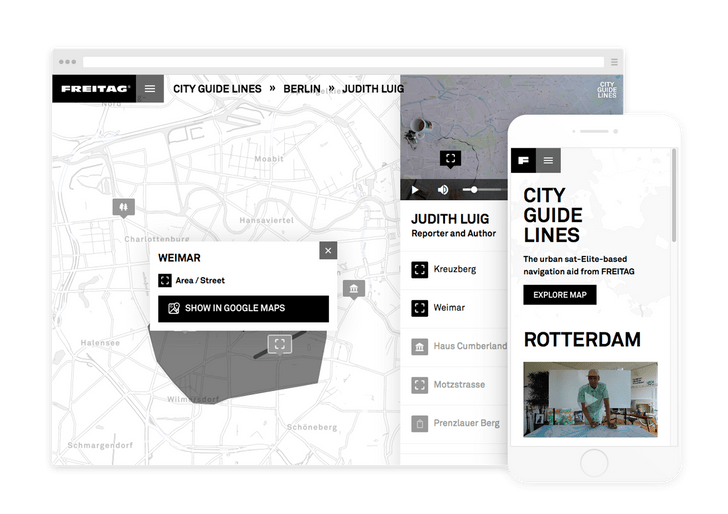 FREITAG CITY GUIDELINES
