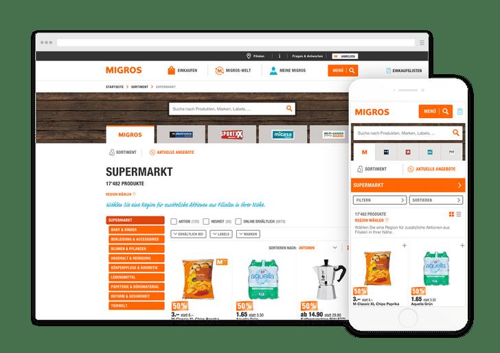 Migros API & Produktsuche