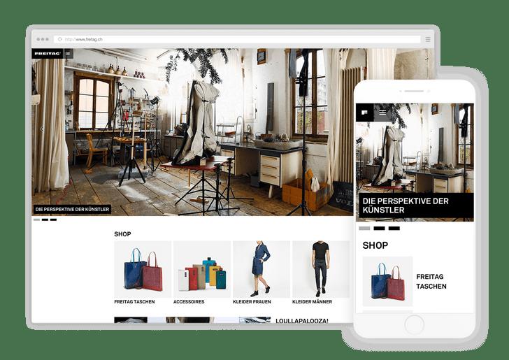 Content-Portal Freitag Neo
